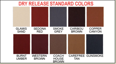 Dry Release Standard Colors