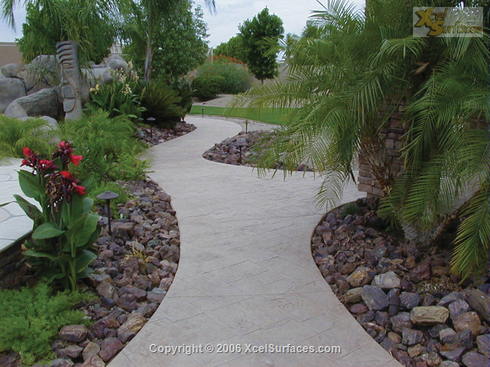 Stamped Pathway